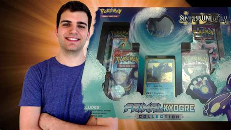 best x and y primal kyogre collection box opening
