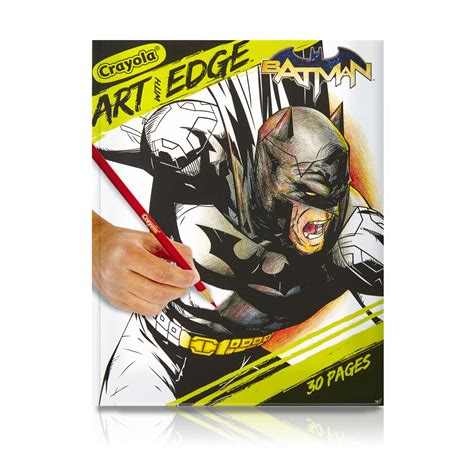 crayola coloring pages batman crayola art with edge 2 pack coloring book bundle batman