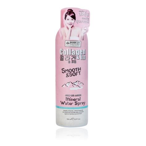 Msi Collagen Spray Original 101 made in nature collagen and q10 smooth and bright mineral water spray