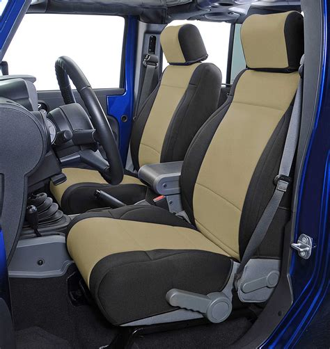 Car Seat In Jeep Wrangler Unlimited Coverking Custom Front Seat Covers For 11 12 Jeep