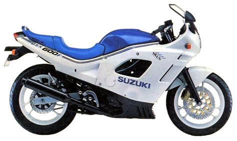 1988 Suzuki Katana 600 Suzuki Gsx600f Model History