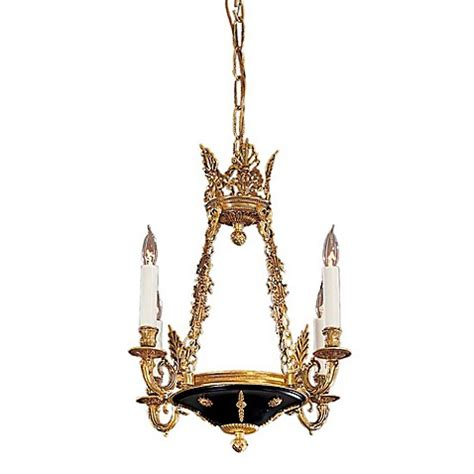 Vintage Mini Chandelier Metropolitan Vintage 4 Light Mini Chandelier In Dore Gold Bed Bath Beyond
