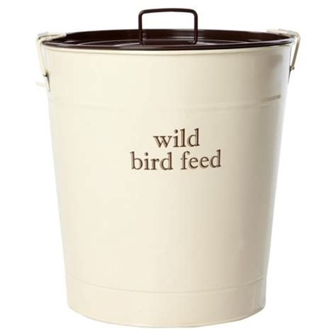 buy wild bird feed storage bin from our pet food
