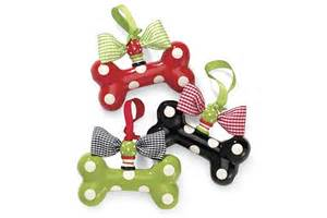 dog bone ornaments holiday christmas pinterest