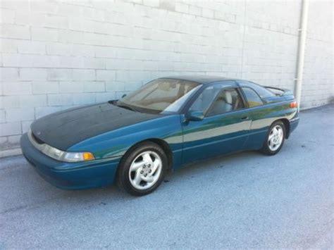 best car repair manuals 1995 subaru svx electronic throttle control find used 1995 subaru svx rare car subaru in elizabethtown pennsylvania united states for us