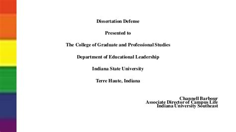 Dissertation Defense Ppt 2014 Powerpoint For Dissertation Defense