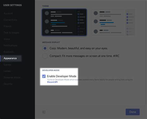 discord tag comment trouver l id de mon serveur discord