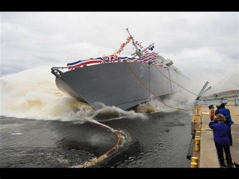 navy boat crash big ship launches good and bad caught on camera ships