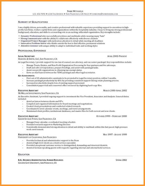 entry level project manager resume objective 28 images