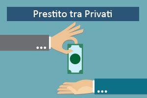 tra privati prestiti tra privati seri italiani immediati come