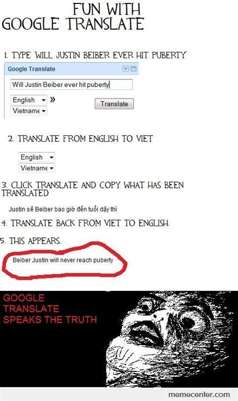 Google Translate Meme - fun with google translate by ben meme center