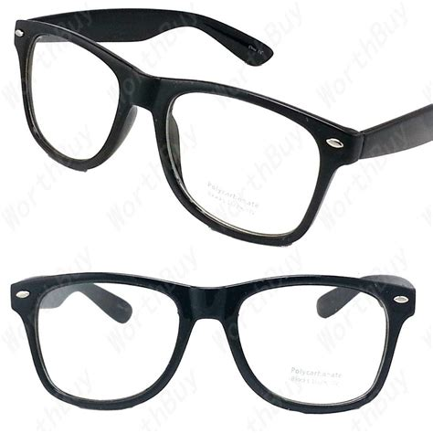 clear lens black frame cat eye glasses designer fashion