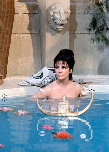 the wrestler bathroom scene elizabeth taylor cleopatra movie bath scene with toy boat
