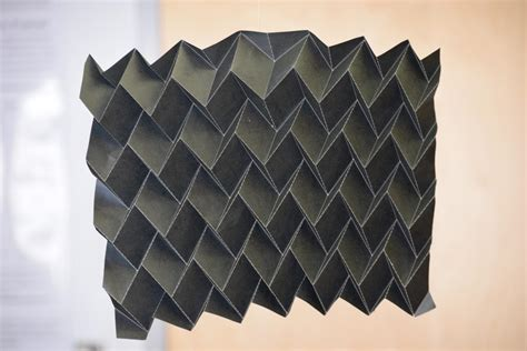 Paper Folding Shape - nasa s new shape shifting radiator inspired by origami