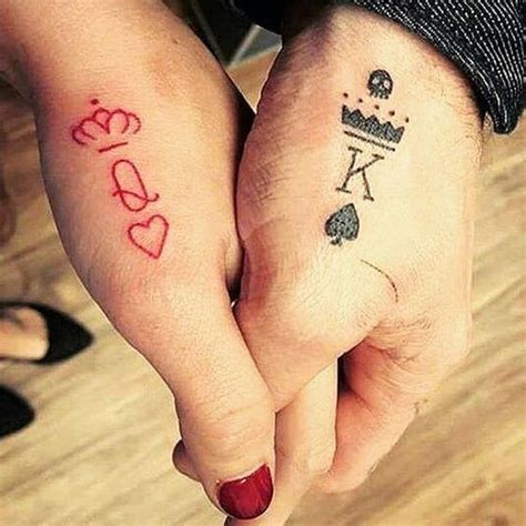 forever couple tattoos king matching tattoos for couples that truly