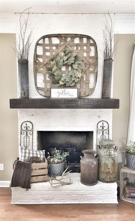 White Brick Fireplace Decorating Ideas by Best 25 White Brick Fireplaces Ideas On White