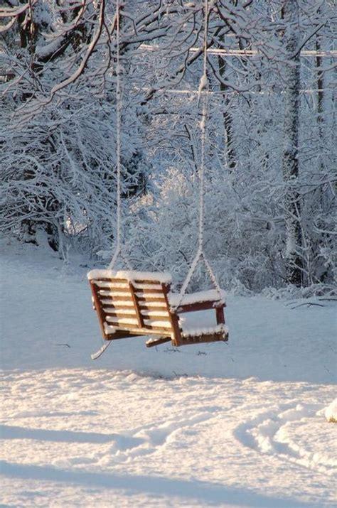 winter swing jahreszeiten romantisch and wunderland on pinterest