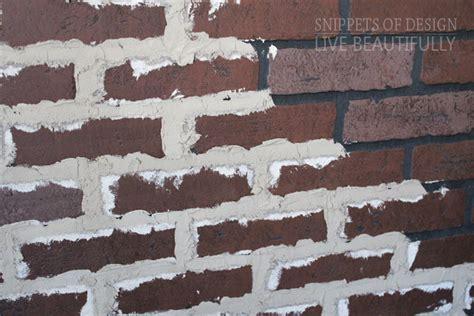 diy faux brick wall diy vintage faux brick wall snippets of design