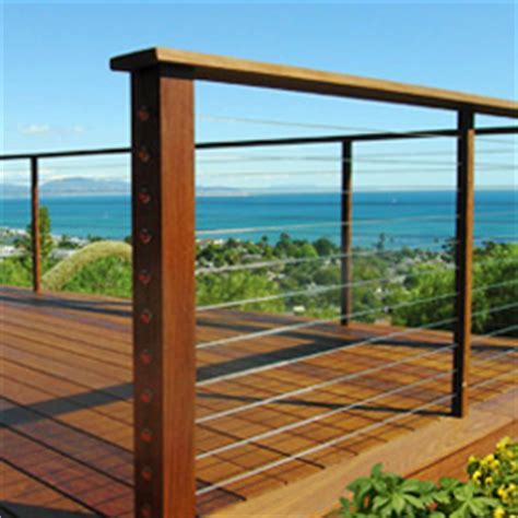 Feeney Cable Rail Code Requirements For Cable Railing On A Deck
