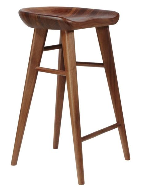 kitchen bar furniture replica craig bassam tractor counter stool 65cm walnut