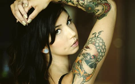 tattoo full hd image tattoo girl wallpaper hd wallpapersafari