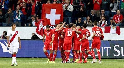 Brief Schweiz Nach Brasilien Fussball Ch Wieder Sp 228 Te Schweizer Tore Nati Fussball International Wm 2014 Sport