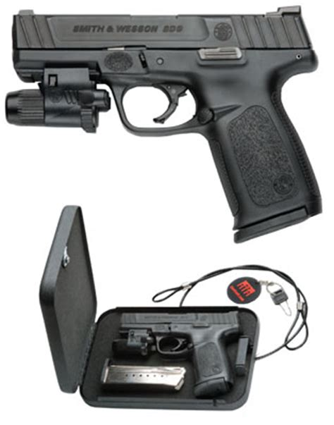s&w home defense kit sd9 9mm 16 rounds tritium night sight
