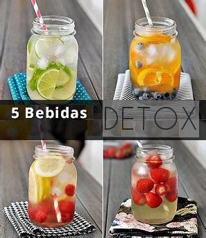 Nombres De Bebida Detox by 5 Bebidas Detox Para Quemar Grasas