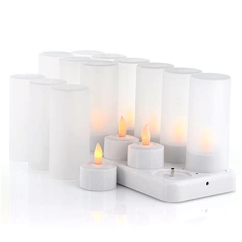 candele al led candele ricaricabile a led cool mania
