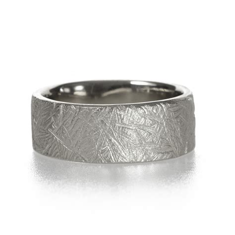 Handmade Band - rugged handmade wedding band by kendra renee