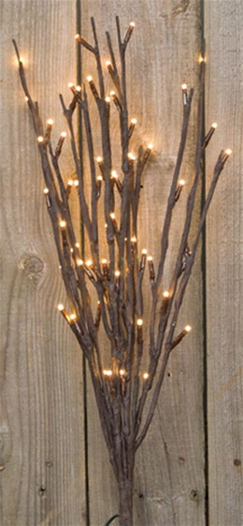 willow twigs lighted branch by cwi the weed patch
