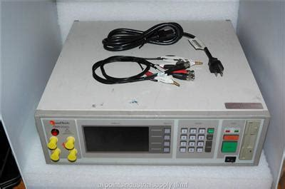 Lcr Plumbing Supply by Quadtech 7600 Precision Lcr Rlc Test Meter Impedance Analyzer Tech Tested Ebay