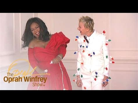 Oprah Christmas Giveaway - oprah winfrey shocks ellen doovi