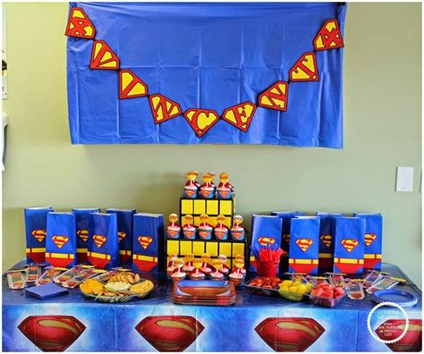 Superman Decorations by 25 Best Ideas About Superman Decorations On