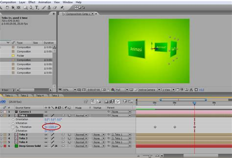 membuat iklan dengan after effect membuat animasi judul dengan after effect