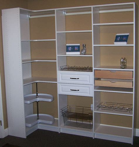 White Pantry Closet by Pantry Cabinet Storage White Flickr Photo