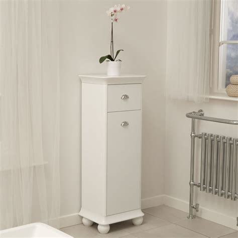 Valencia Bathroom Furniture Valencia White Storage Unit