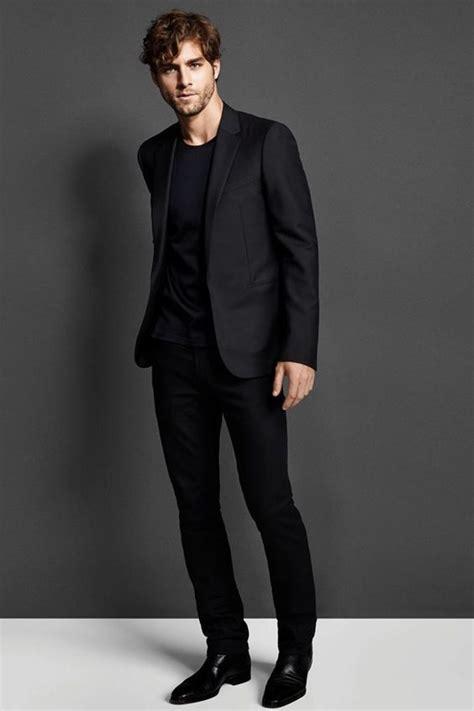 oxford shoes with suit s black suit black crew neck t shirt black leather