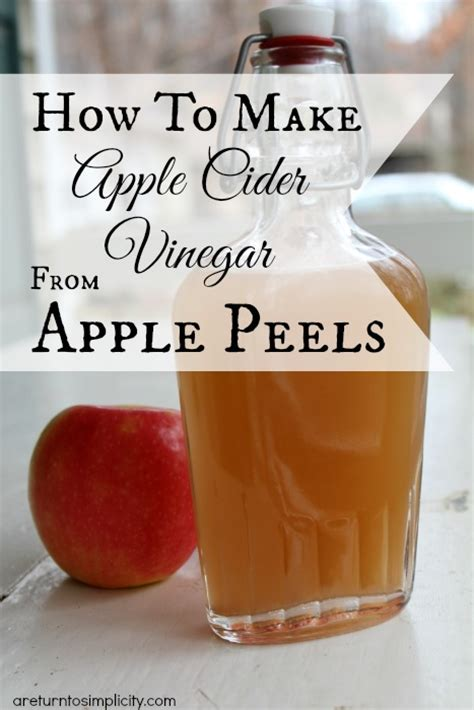 how to make apple cider vinegar how to make apple cider vinegar from apple peels