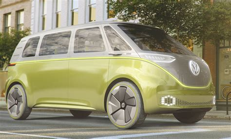 future volkswagen volkswagen i d buzz concept the future of vw combi