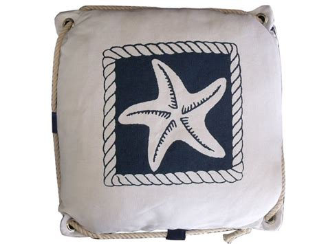 Nautical Pillows Wholesale by Wholesale Navy Blue And White Starfish Decorative Nautical