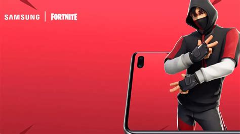 samsung  fortnite anuncian  skin exclusivo  el galaxy