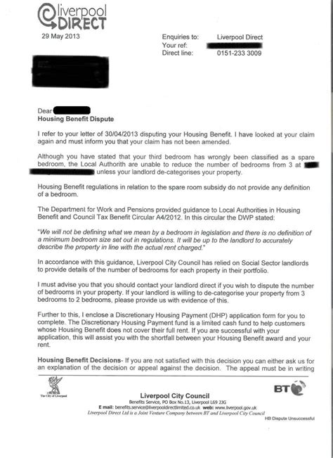 council tax appeal letter template bedroom tax this council flake is becoming the