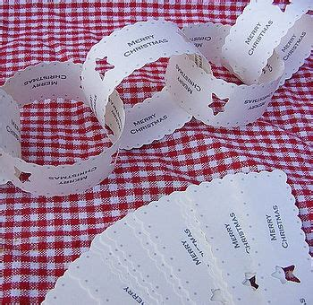 printable christmas paper chains 108 best paper chains images on pinterest garlands