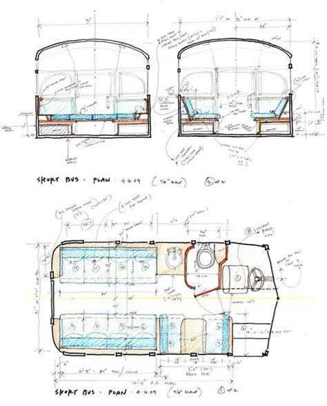 1959 Viking Short Bus Converted into Cabin on Wheels You