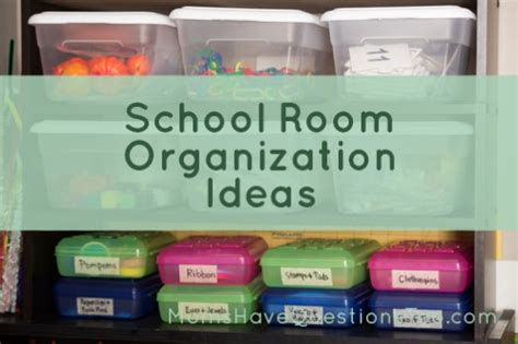school room tour and organization ideas