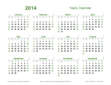 year calendar template yearly calendar template for 2018 and beyond