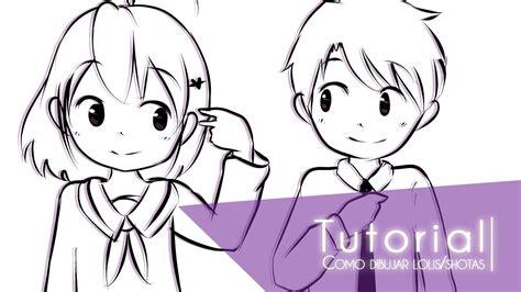 Imagenes Niños Dibujos | tutorial ۰ como dibujar ni 241 os lolis shotas ۰ youtube