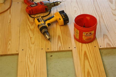 A 1 Flooring by Make Your Own Flooring With 1x6 Pine