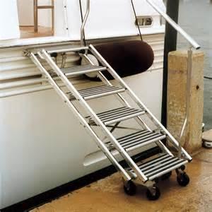 tracy international boarding stairs west marine